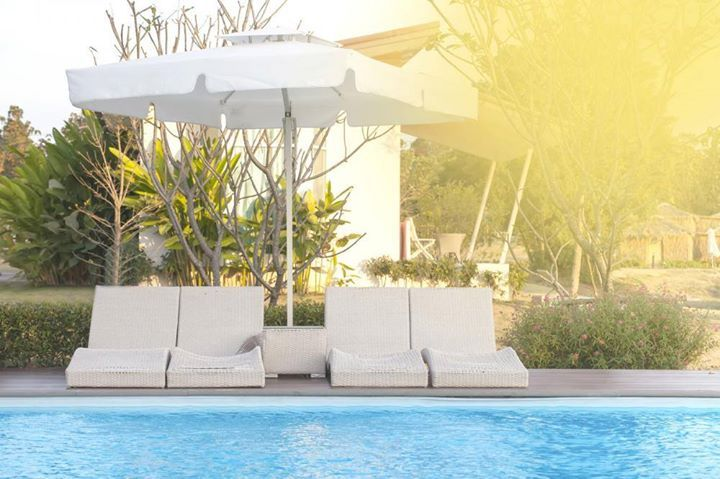 Need a perfect place to lounge next to the pool? Here are some ideas for your patio area! http://qoo.ly/jq9s4 Learn more at http://ift.tt/2lqiJ8m