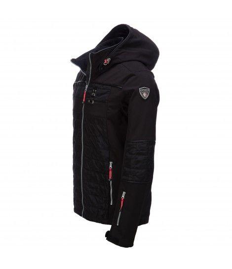 Icepeak, Osmo softshell jas Heren, Zwart (Ski kleding heren)