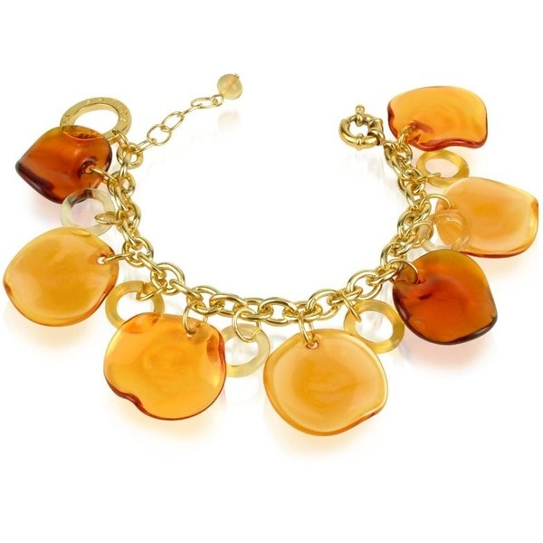 Antica Murrina Shiva - Murano Glass Charm Bracelet found on Polyvore