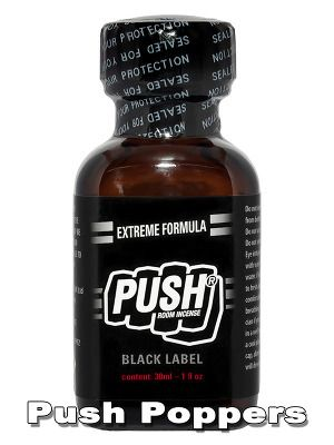 Push - Black Label comes with an extremely strong formular and ultra fast release. Ideal for many, hefty Pushes. Big 30ml bottle.