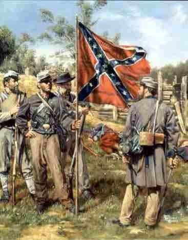 civil war infantry art prints | Civil war infantry