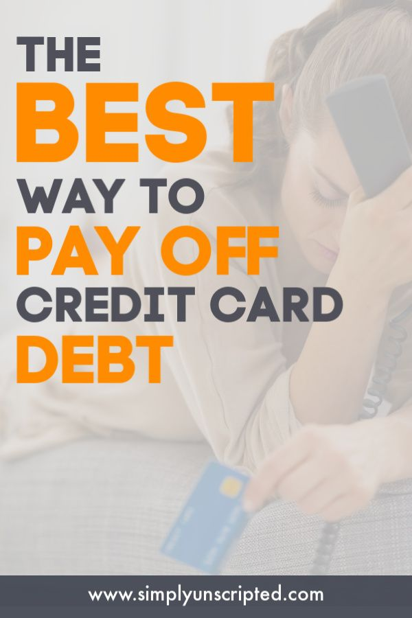 How to Pay Off Credit Cards Using the Debt Snowball Method