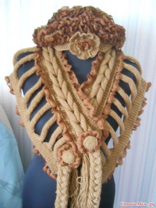 bufandas de punto originales