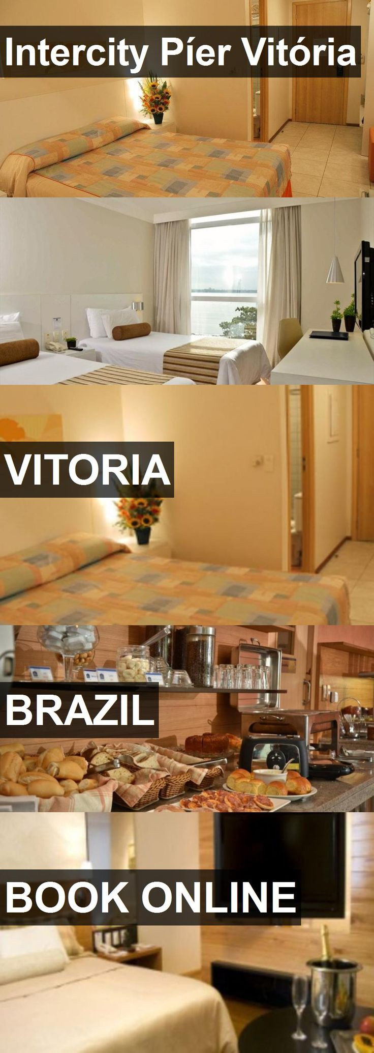 Hotel Intercity Píer Vitória in Vitoria, Brazil. For more information, photos, reviews and best prices please follow the link. #Brazil #Vitoria #IntercityPíerVitória #hotel #travel #vacation