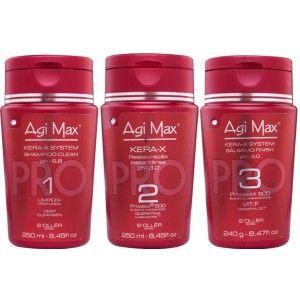 O Kera-X é um complexo de aminoácidos que repõe a queratina nos cabelos secos e danificados, tornando-os mais macios e maleáveis.