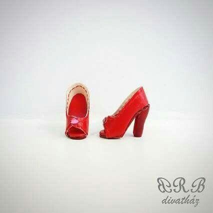 Handmade shoes for Barbie