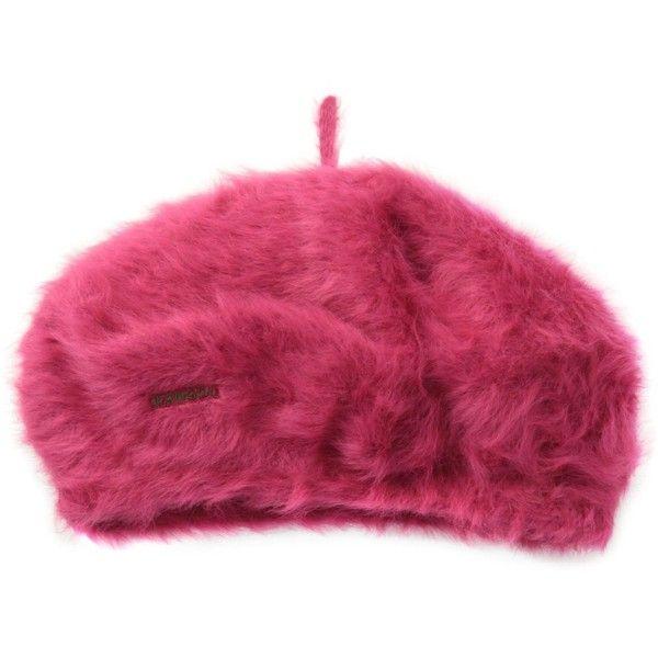 "Kangol Furgora 11"" Beret - Black - One Size at Amazon Women's Clothing... ($36) ❤ liked on Polyvore featuring accessories, hats, kangol beret, kangol, kangol hats and beret hat"