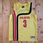 For Sale - NBA Jersey Atlanta HAWKS Shareef Abdur-Rahim Yellow Nike Youth XL #3 - See More At http://sprtz.us/HawksEBay
