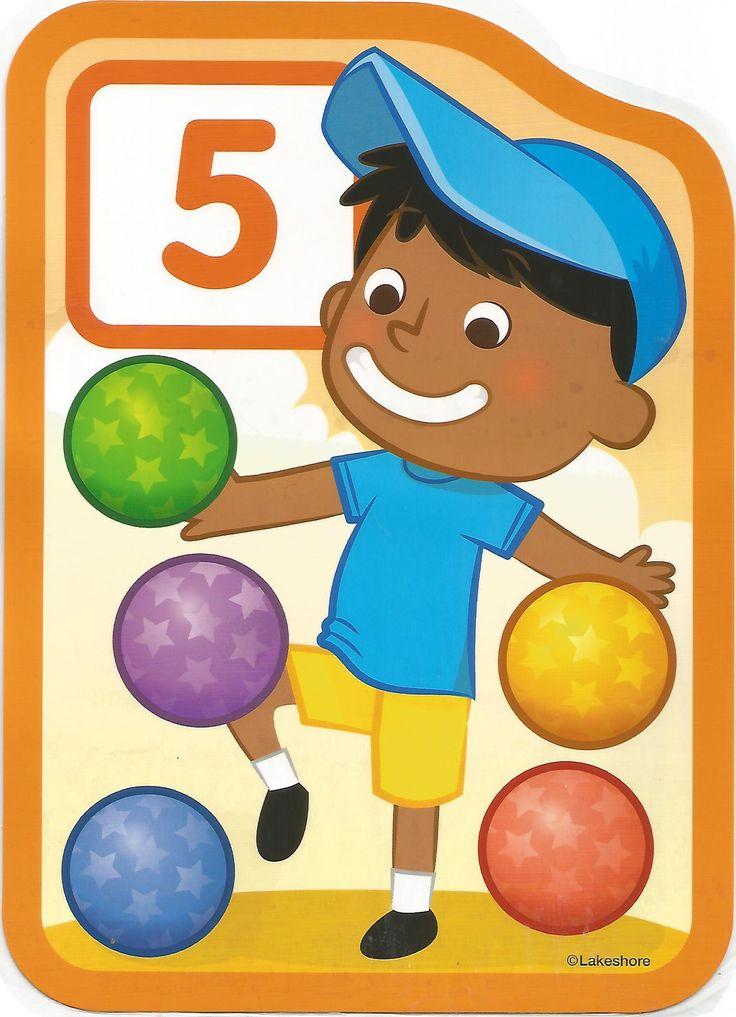 Numero 5 lámina, imagen, imprimir, preescolar, matematicas matemáticas número LAKESHORE