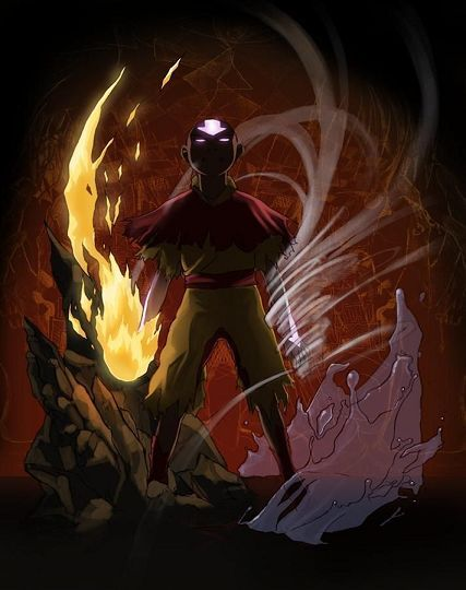 Avatar Aang the last air bender. One of the best animated shows ever made!
