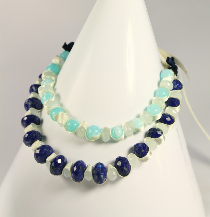 beautiful lapis lazuli necklace...by Amethy