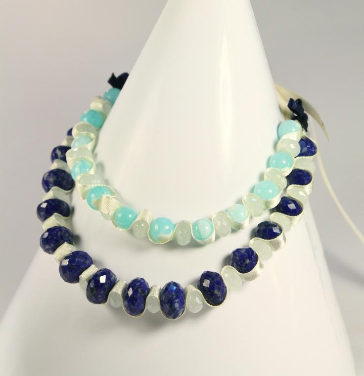 beautiful lapis lazuli necklace...by Amethy