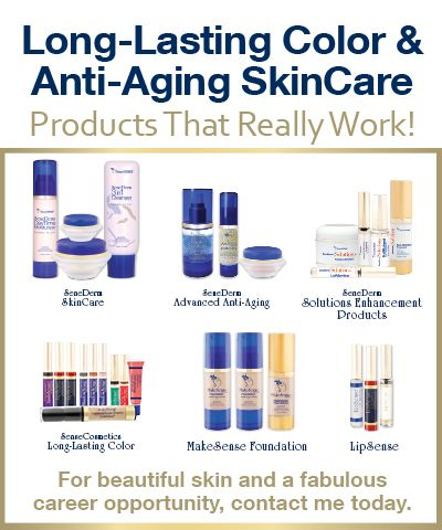Anti-Aging #Skincare & Long lasting #makeup that's sweat proof, waterproof and good for your skin! These products truly do what they say they're going to do!