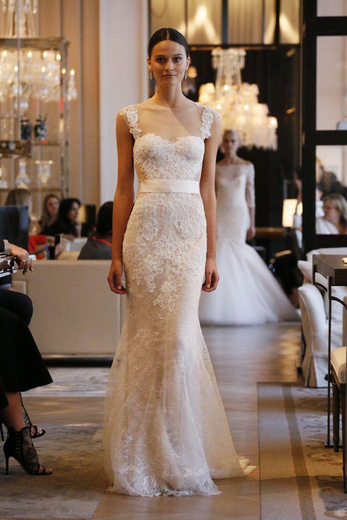 Monique Lhuillier Bridal Spring 2016 | WWD