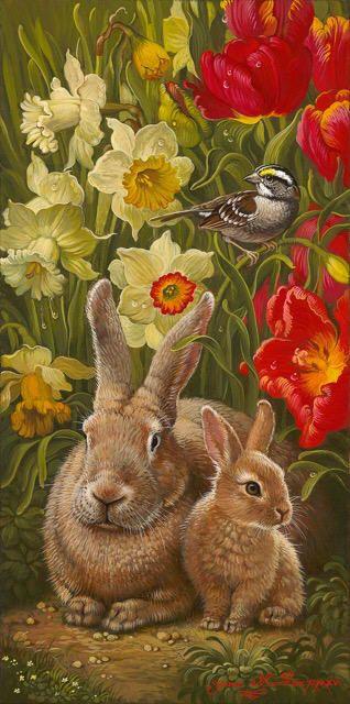 Исполнитель: Яна Мовчин, Название: Весна Цветущий я Vintage Easter Fashion @rubylanecom www.rubylane.com