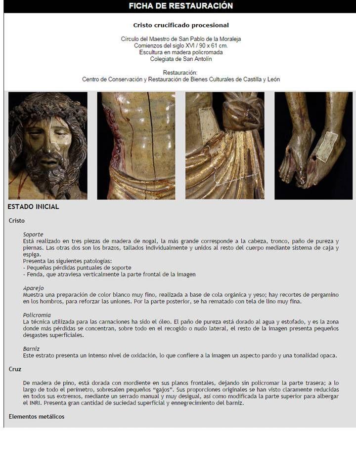 Ficha técnica escultura