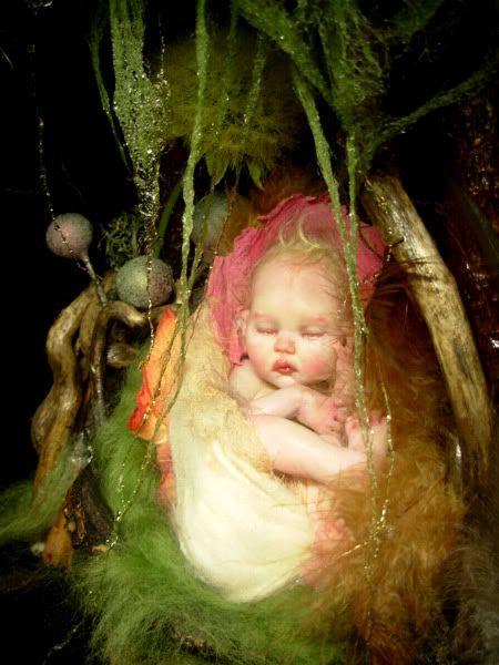 newborn faerie  by B.B. Flocking
