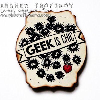 Geeky Totoro Card #pinkcraftymama #geek #geeky #totoro #myneighbortotoro #stampinup #papersmooches #mft #card #cards