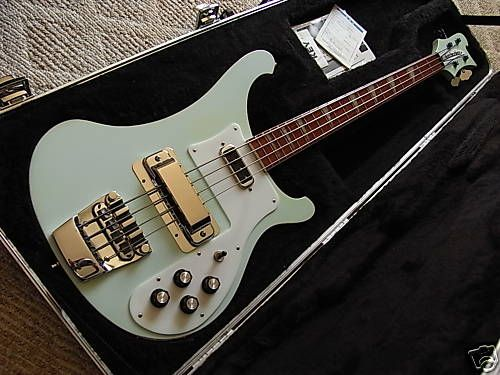 2005 RICKENBACKER USA 4003 BLUE BOY BASS SUPER COOL - Bass guitar museum