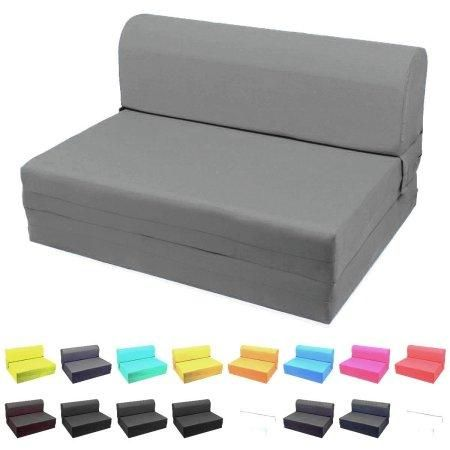 Kids,Teens, Guests Convertible Flip Small Space Lounge Foam Sleeper Chair  Bed