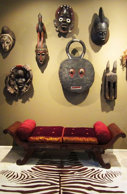 African Masks Create Unique Living Spaces They Can Be