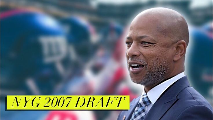 New York Giants 2007 Draft Under GM Jerry Reese - http://bleedbigblue.com/new-york-giants-2007-draft-gm-jerry-reese/