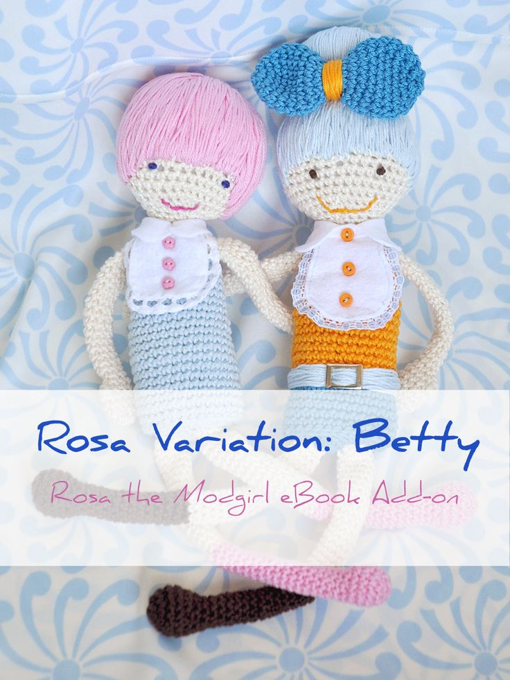 Bestest friends: Rosa the Modgirl and Betty Blue