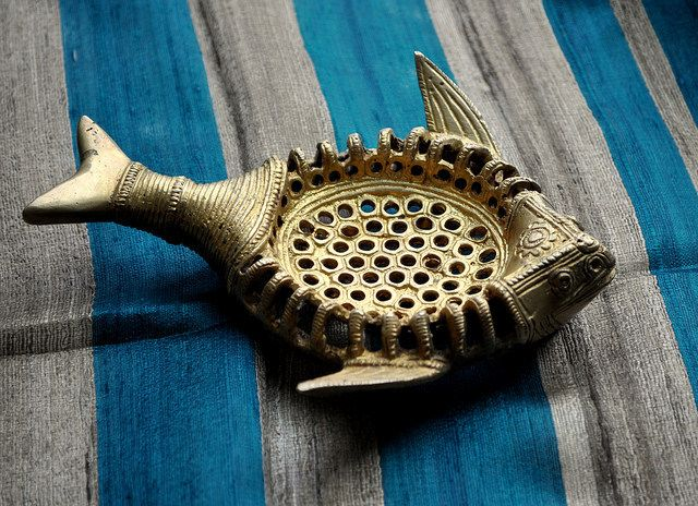 Vintage Brass Fish Shaped Soap Dish / Shop At My Dream Canvas