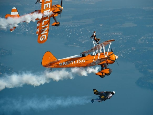 Image result for jetman breitling wingwalkers