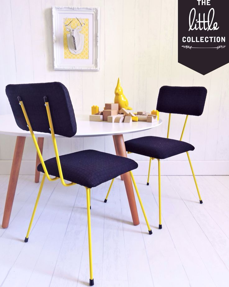 The Little Collection kids retro style chair - KNOX chair