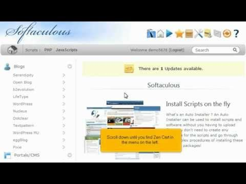 View the following tutorial on how to install Zencart in 1 minute with 1 click!!  Zencart web hosting with http://giganetwebhosting.com Fast and Easy.