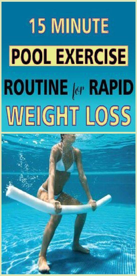 Programma di allenamento in piscina di 15 minuti per perdere peso velocemente
