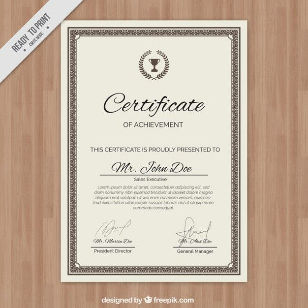 92 best FREEPIK images on Pinterest Bridal invitations, Free - new certificate vector free