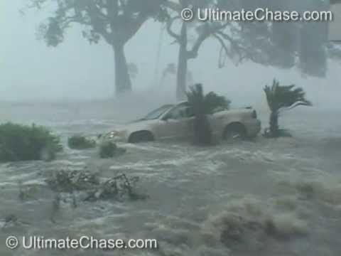 Hurricane Katrina Historic Storm Surge Video - Gulfport, Mississippi - YouTube