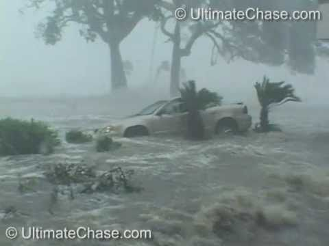 """Famous"" Hurricane Katrina Storm Surge video seen on CarFax TV Commerical"