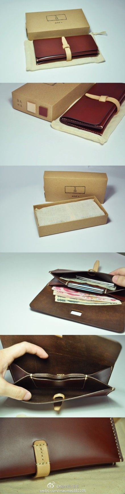 carteira (wallet/clutch) - very clever card holder in the middle!