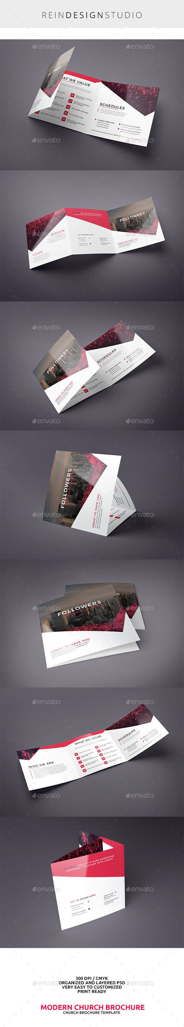 Modern Church Square Trifold Template PSD. Download here: http://graphicriver.net/item/modern-church-square-trifold/15186040?ref=ksioks