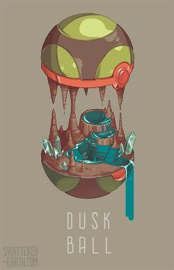 Dusk Ball | Pokémon #illustration