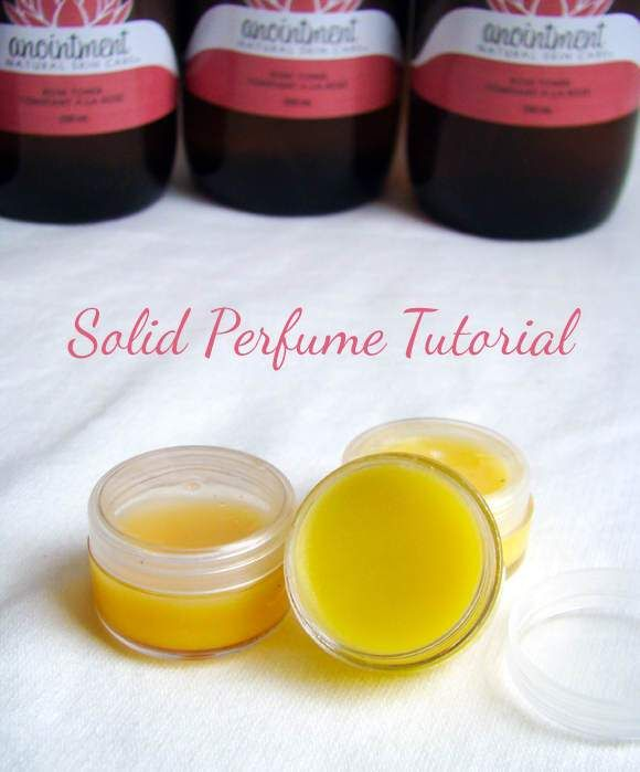 Beauty Is A Serious Thing. This Is Why You Should Do It Yourself - DIY LUXURY SOLID PERFUMES