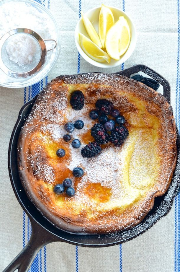 Dutch Baby Pancake recipe   Camille Styles