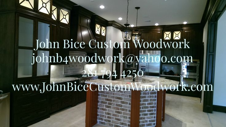 John Bice Custom Woodwork www.JohnBiceCustomWoodwork.com 281 794 4250 JohnB4Woodwork@yahoo.com  #kitchens #bathrooms #newconstruction #remodel #stairs #builtin #outdoorkitchens #custom #carpentry #carpenter