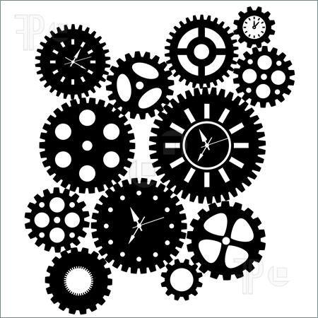 gears clipart | DIY Steampunk | clock cogs clipart