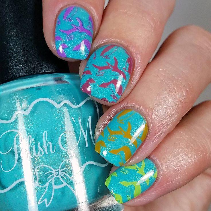 Penguin Nail Art Designs: 25+ Best Ideas About Penguin Nail Art On Pinterest