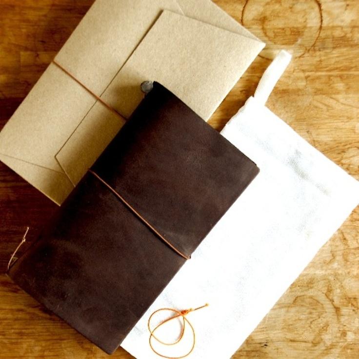 Weathered Midori Traveler S Notebook