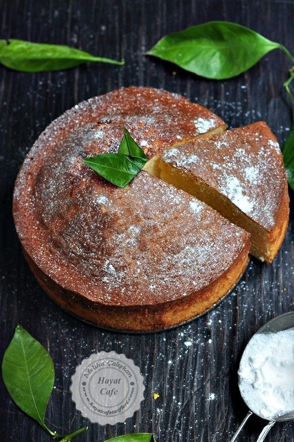 Portakallı sünger kek tarifi