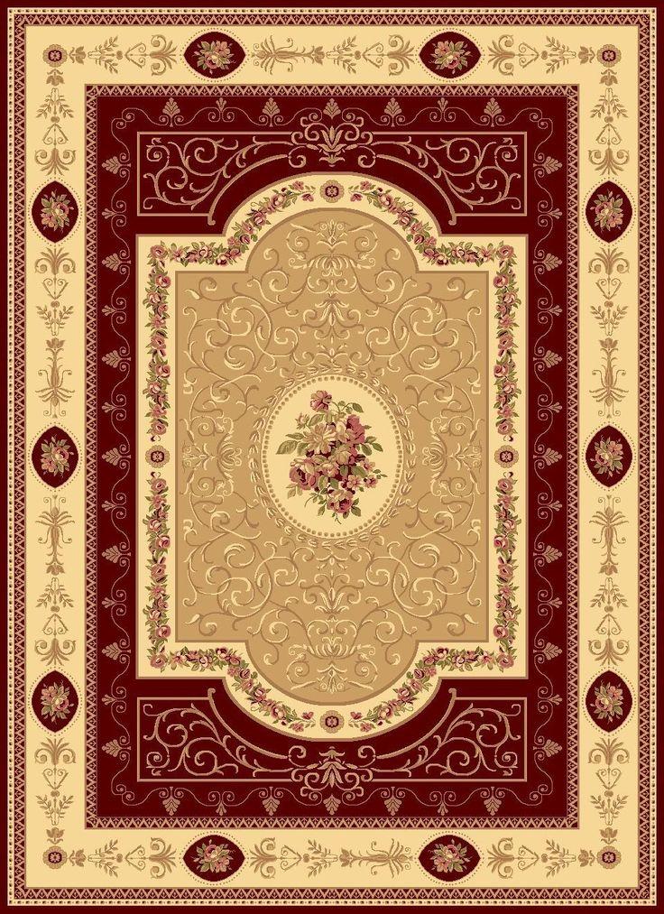 gloucester red area rug