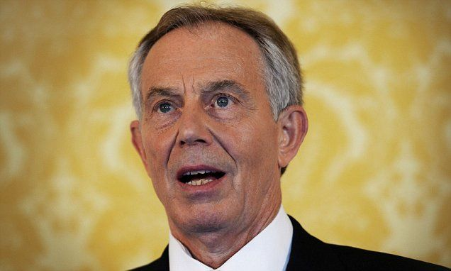 April the 1st ??????????? Tony Blair returns to politics as he hunts for Westminster office