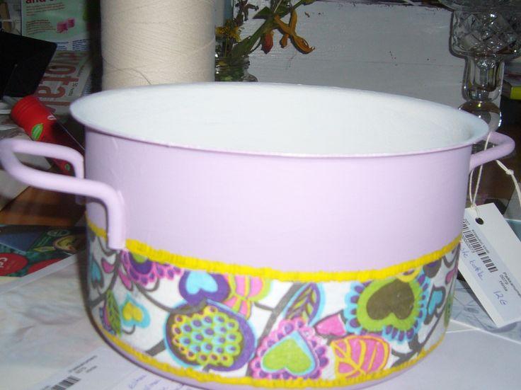 A old saucepan.