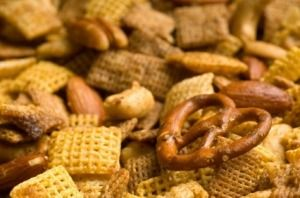 This page contains homemade Chex Mix recipes. Homemade Chex Mix is a good party or family night snack.