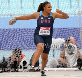 USA Track & Field - Gia Lewis-Smallwood Women's discus